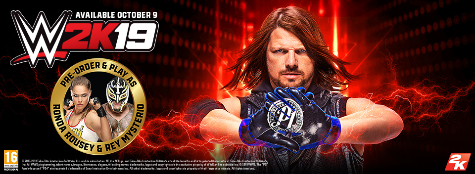 WWE 2K19 M&G