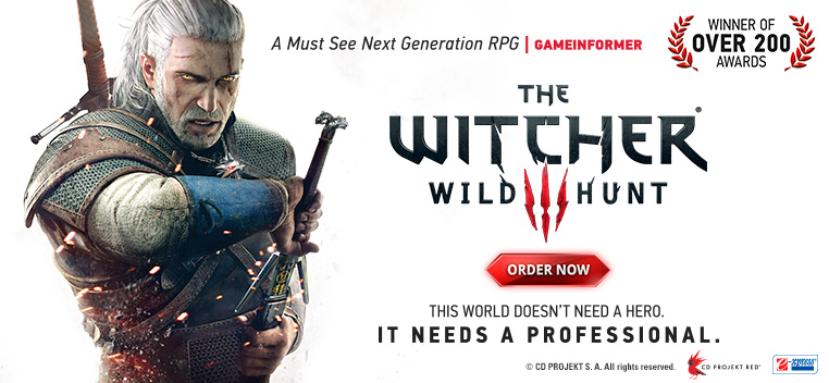 The Witcher 3 Wild Hunt...BUY NOW!
