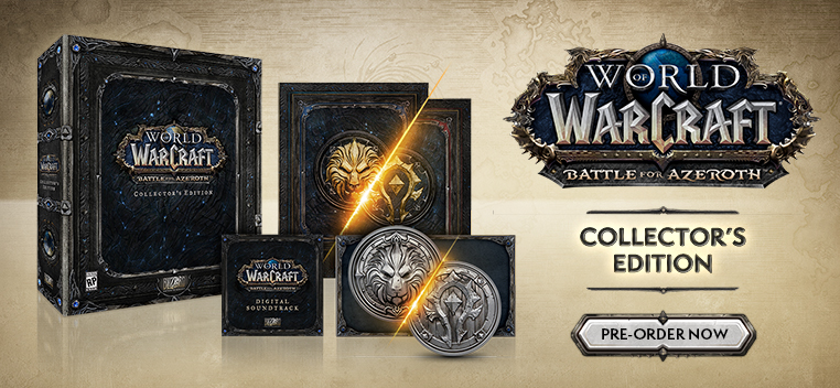 WOW:  Battle for Azeroth PN