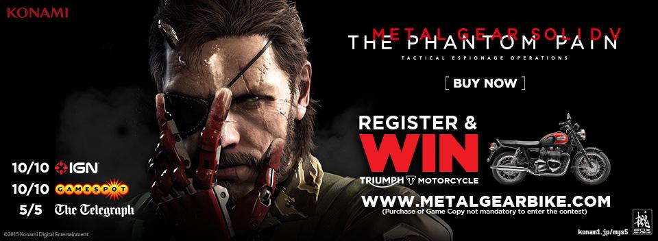 Win Metal Gear Bike