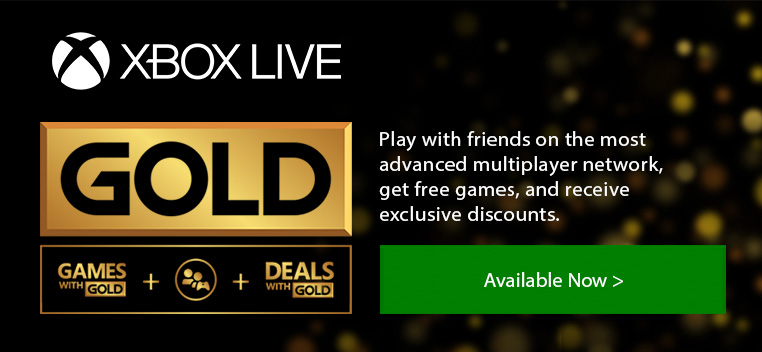 Xbox Live Gold Cards