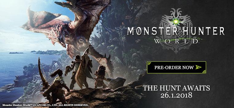 Monster Hunter World Preorder