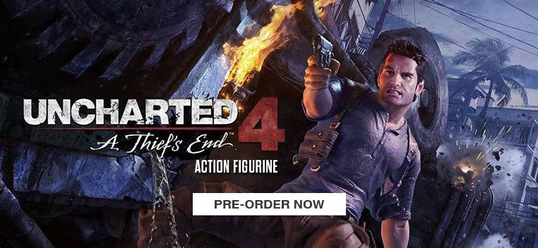 Uncharted 4: Nathan Drake Figurine