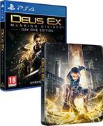 Deus Ex: Mankind Divided Steelbook Edition